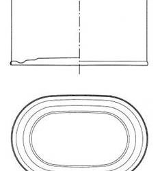 """PRODUCT TECHNICAL SHEET: PACKAGING """"THREE PIECES"""""""