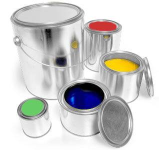 TOOLS FOR PLUGS  Paint containers