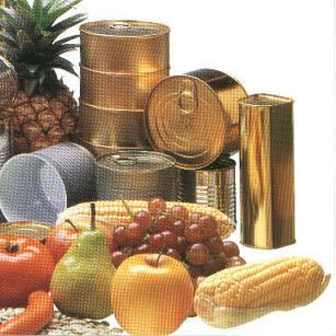 properties  OF THE  METAL CONTAINER