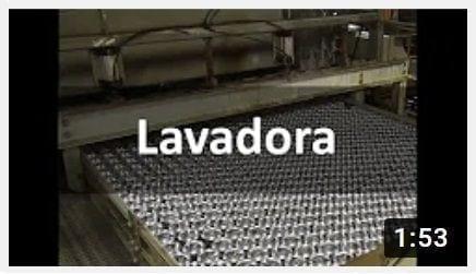 LAVADORA ENVASES METÁLICOS