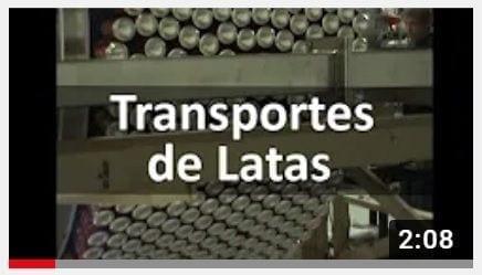 transportes de latas