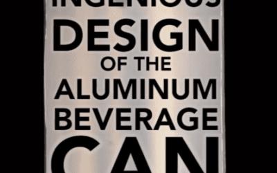El ingenioso diseño de la lata de aluminio de bebidas