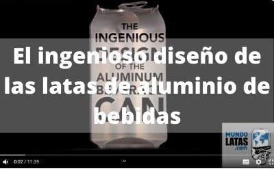 EL DISEÑO DE LAS LATAS DE ALUMINIO PARA BEBIDAS