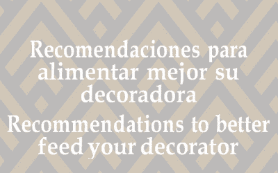 Recommendations to better feed your decorator