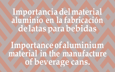 Importance of aluminium material in the manufacture of beverage cans