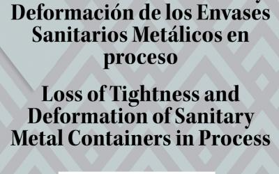 Perdita di ermeticità e deformazione dei contenitori sanitari metallici nel processo