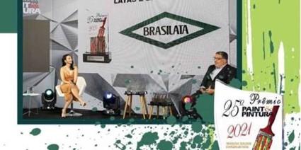 BRASILATA GANA EL PREMIO PAINT&PINTURA COMO MEJOR PROVEEDOR DE ENVASES METÁLICOS 2021