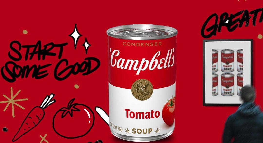 50 años después, Campbell´s le dice adiós a Andy Warhol