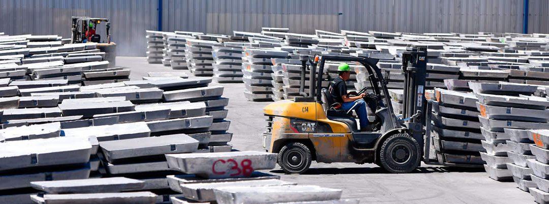 Sceptre suministrará a Novelis 200.000 toneladas de lingotes de aluminio reciclado